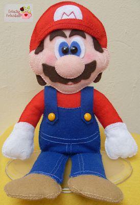 Felt Mario Brother's Doll