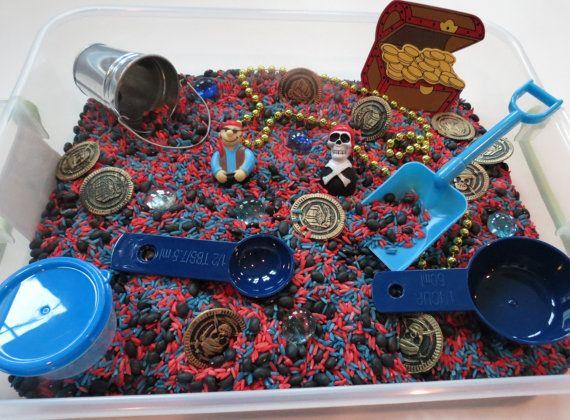 Pirate Sensory Box by ChildsPlayCreations on Etsy