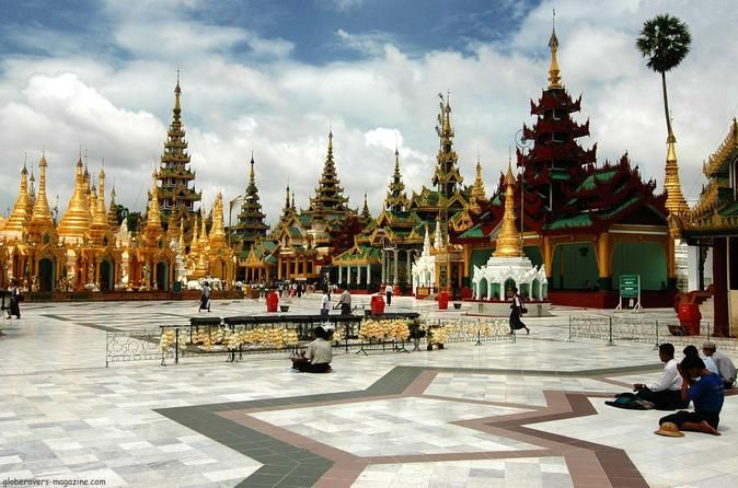 The Real Yangon Day Tour Explore the real Yangon from the eyes of locals and listen some interesting history about this amazing city. Explore colonial buildings and notable pagodas on this full day walking tour, immerse yourself in this historical ancient capital with our professional English speaking guide.Our driver will pick you up from your hotel located in city center around 9am and welcome you to the land of glittering Pagodas. Our journey starts at the Jetty by the Yan...