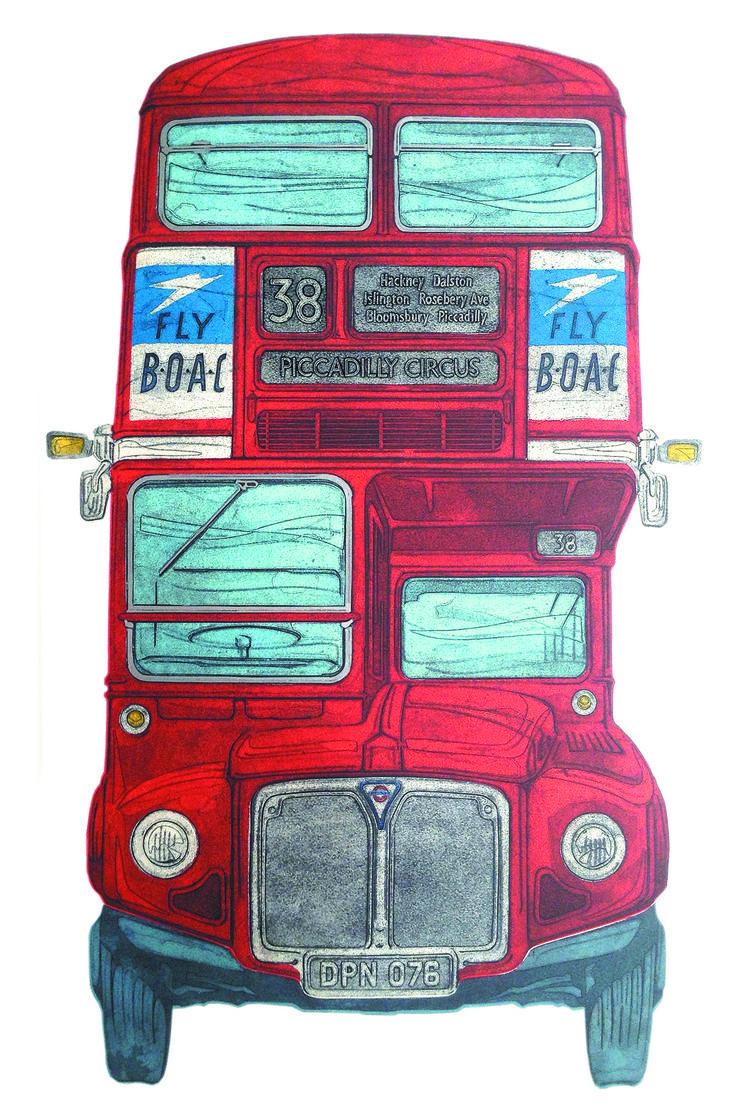 Barry Goodman | 38 | # art | #London | #buses | #print | £595