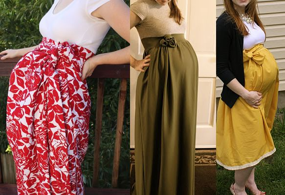DIY Divas – DIY Maternity Dress