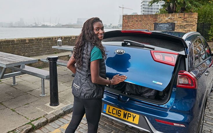 In our latest Kia Instagram Challenge, Olympic sprinter Dina Asher-Smith sees if the Kia Niro can keep up with her on a London shopping trip