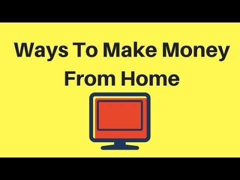 Ways To Make Money From Home – Ways To Make Money From Home ways to make money f… – News to Go
