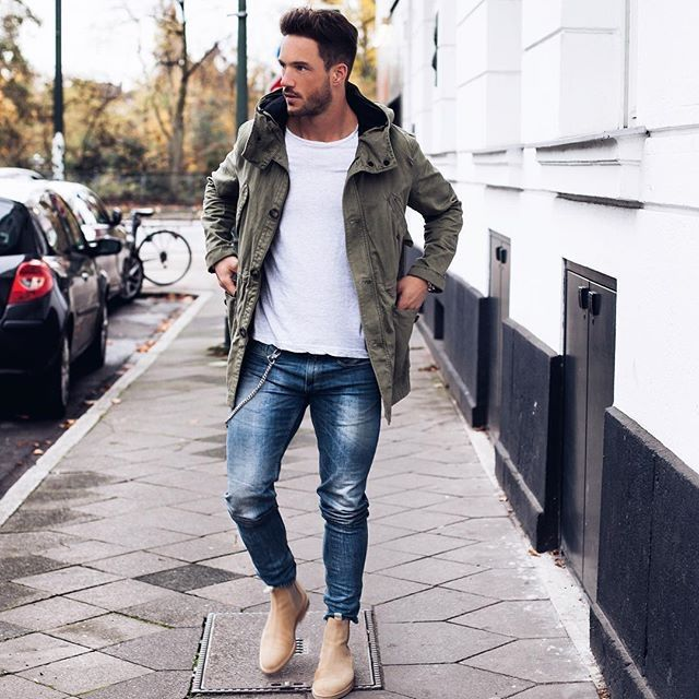"coolcosmos: "" Daniel F. [Jacket : Zara Man T-shirt : H&M Jeans : Asos Boots : Common Projects] """