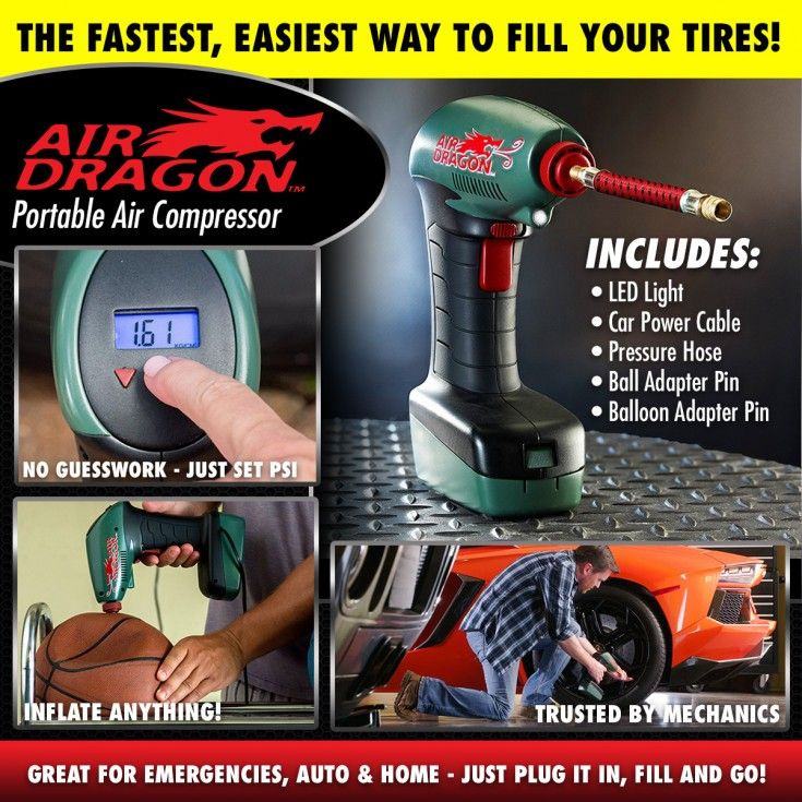 Image result for AIR DRAGON PORTABLE AIR COMPRESSOR