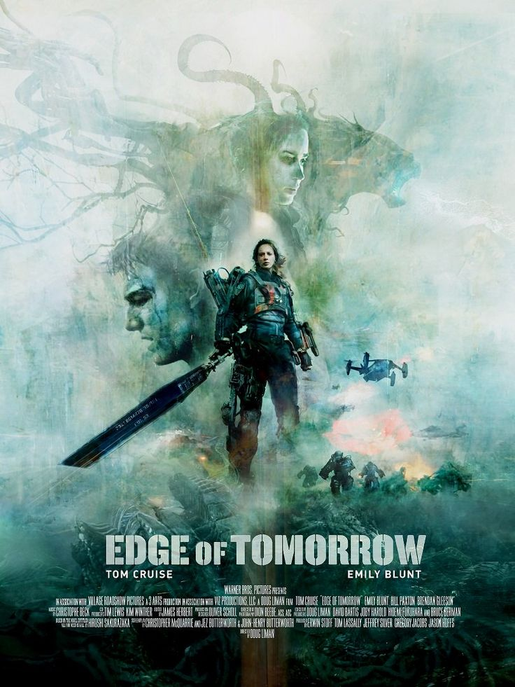 'Edge Of Tomorrow' by Christopher Shy