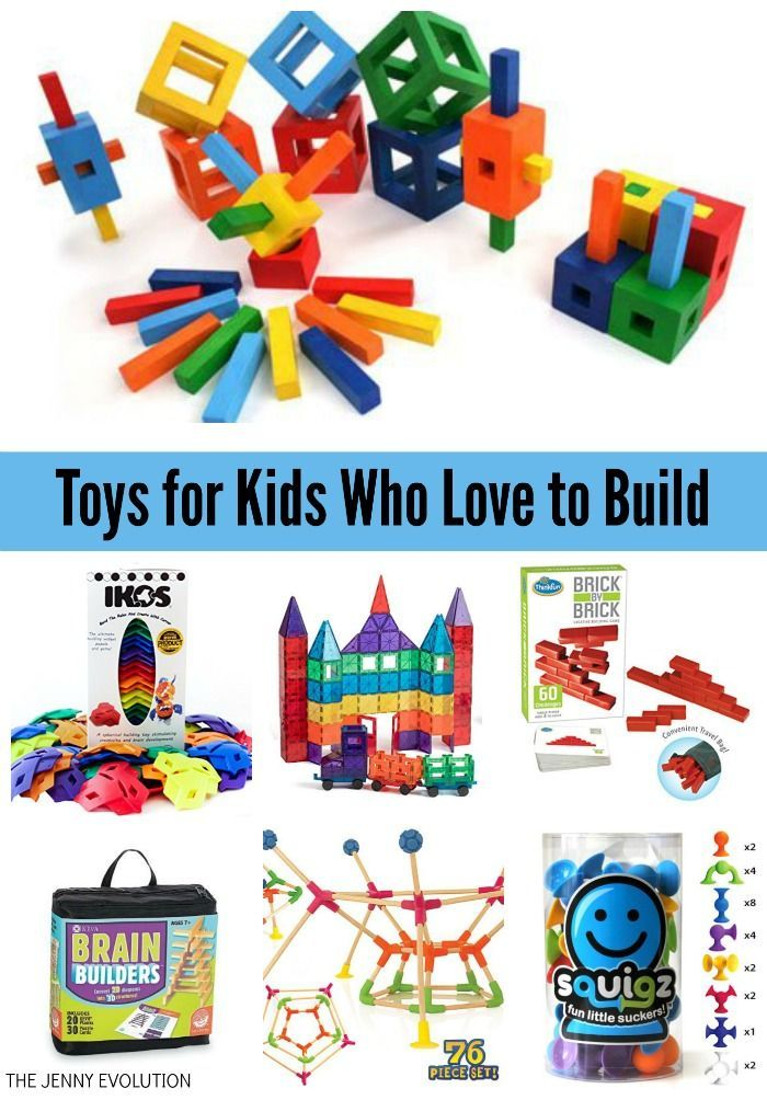 Build Toys for Kids Who Love to Build - Have someone who loves Legos? Then you're going to want to check out these inventive toys to expand their imaginations! They make awesome gifts for all kids :)