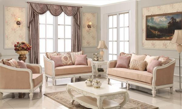 Traditional Wooden Sofa Set Designs, Classic Sofa Designs ...