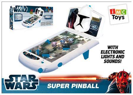 Imc Toys Пинбол 720251 star wars, в коробке 7,5*60*28см, imc toys  — 2299 руб.  —  Пинбол 720251 STAR WARS, в коробке 7,5х60х28см, IMC TOYS IMC toys Star Wars пинбол - отличная возможность организовать настоящее соревнование по пинболу на обычном столе. С таким игровым набором ребята смогут увлекательно провести время вместе. Игра автоматически подсчитывает очки и выводит их на электронном табло