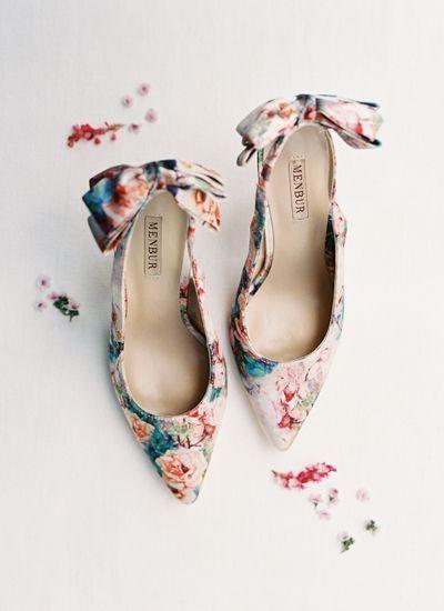 floral heels | Landon Jacob