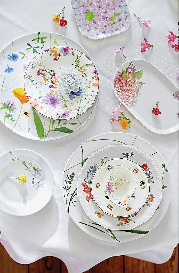 Aranżacja wiosennego stołu http://www.weranda.pl/urzadzamy/meble-i-wyposazenie/aranzacje-wiosennego-stolu #wiosna #kwiaty #porcelana #zastawa #stół #flowers #table #home #artdeco #decoration #dekoracje #dekorowanie #homedeco