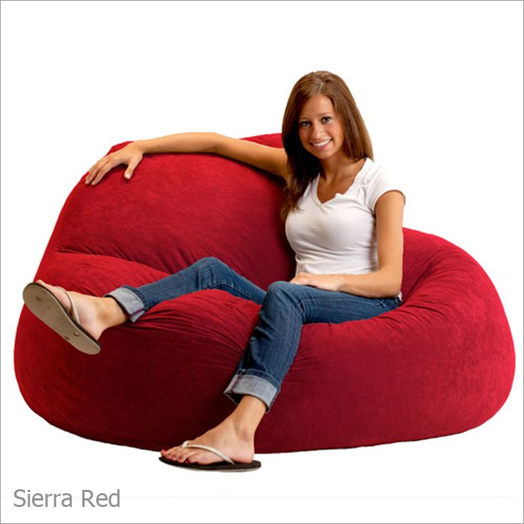 The Chillum Fuf Loveseat Is A Great Way To Relax Allow Your Daily Stresses Melt Away In This Foam Filled Bean Bag Chair