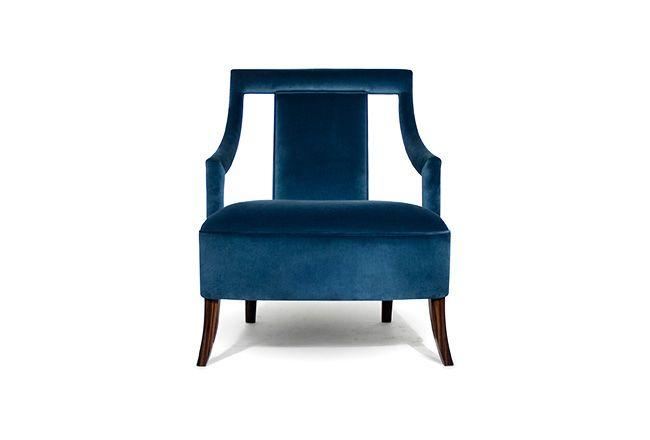 Eanda Modern Upholstered Armchair By Brabbu