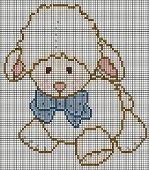 Baby lamb cross stitch
