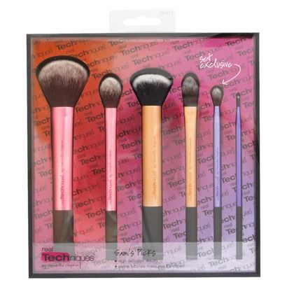 Real Techniques Cosmetic Brush Set - Sam's Picks