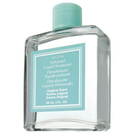 You will love this product from Avon:  Perfumed Liquid Deodorant