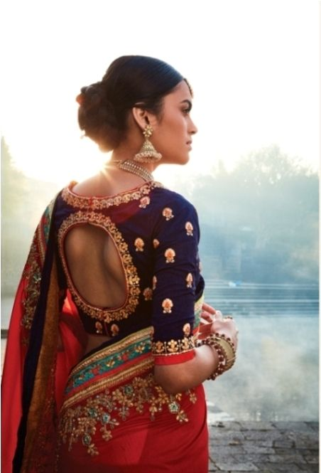 Latest Saree Trends for Indian weddings - Brijraj Fashion