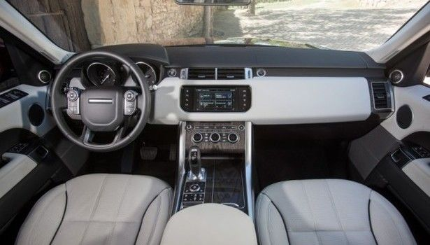 2017 Range Rover Sport - interior