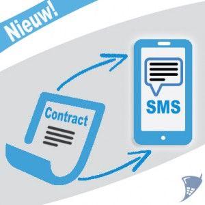 Uniek bij Typhone: verlengen met 1 SMS