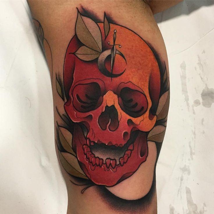 Traditional Flash Skull Tattoos: 2064 Best Tatuajes Images On Pinterest