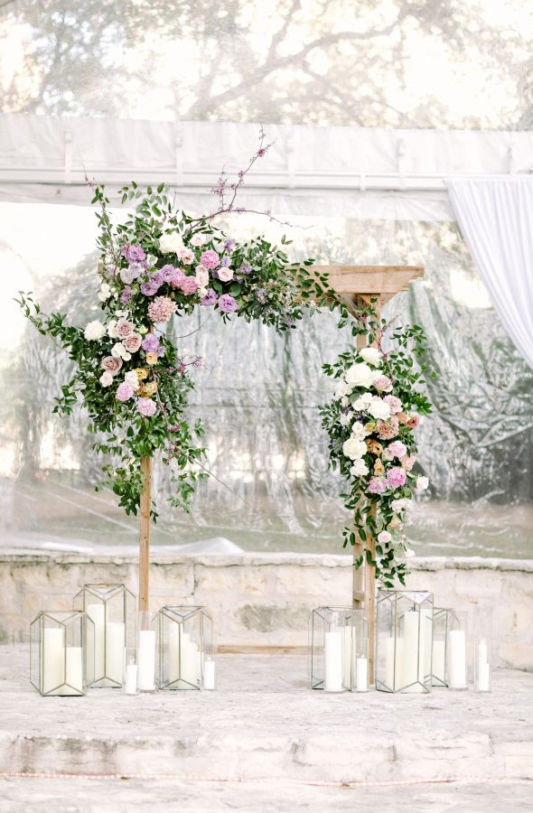 Elegant wedding arch: Photography: Julie Wilhite - http://juliewilhite.com/