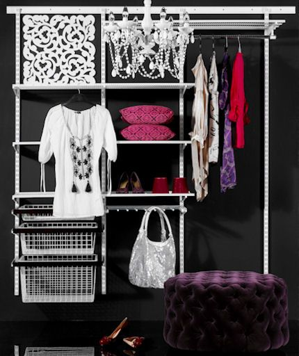64 best images about elfa shelving bedroom on pinterest Best wardrobe storage solutions