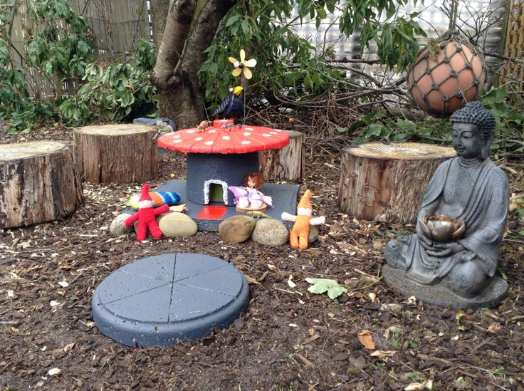 Our little fairy garden