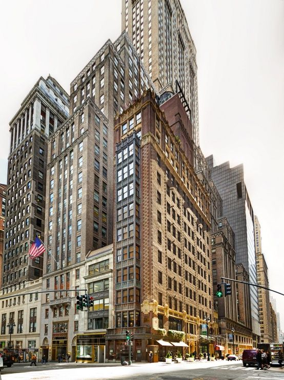 The Library Hotel New York East 41st Street, also known as Library Way.