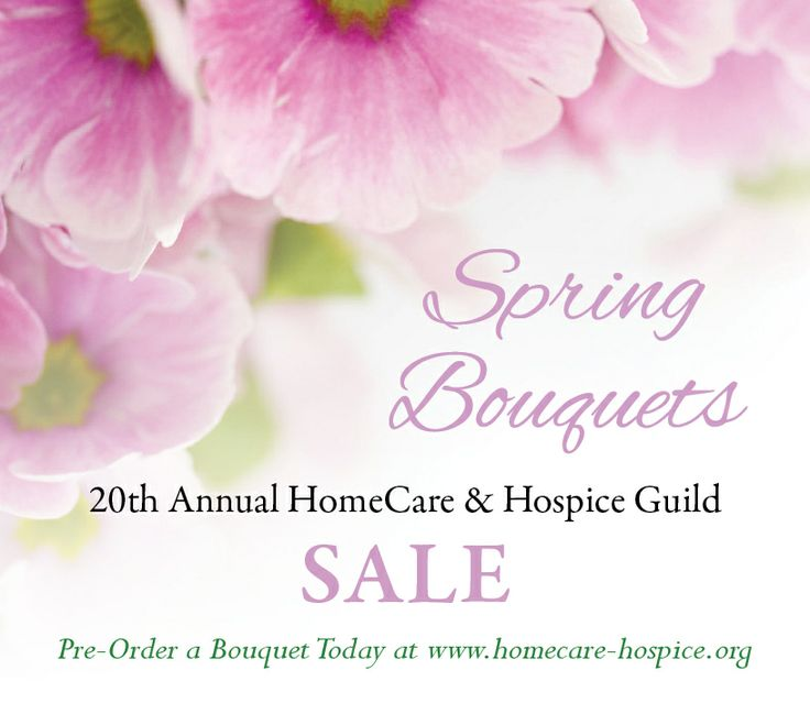 HomeCare & Hospice Guild Spring Bouquet Sale! Pre-order your bouquet before it's too late! http://www.homecare-hospice.org/fundraisers/spring-bouquet-sale-2014