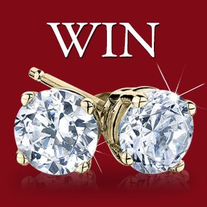 Win a pair of 1 Carat Diamond Earrings Retail Value $3000