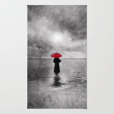 waiting in the sea II  -  by Viviana Gonzalez Rug by Viviana Gonzalez - $28.00