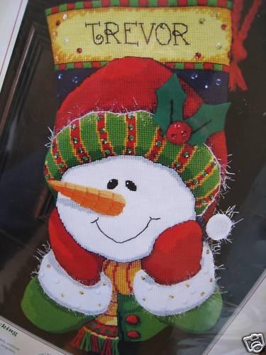 5 - Sarah - Snowman Sparkle - more nieces and nephews.