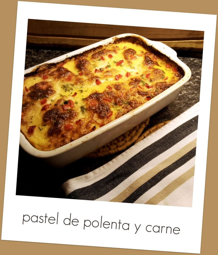 From Argentina to the Netherlands, for Love!: Winter food: pastel de polenta y…