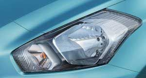 #DatsunGo #Features - Shakti Nissan   Head lamps can say so much. These 3-D shaped head lamps add just the right amount of drama to the car's surface.   Read more about this car: