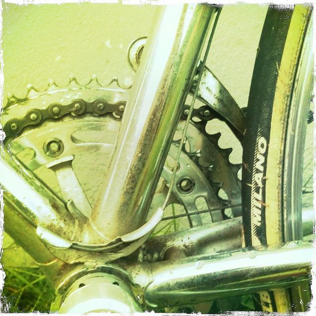My Saxil bike.