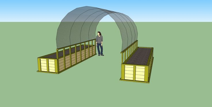 cattle panel greenhouse - Google Search