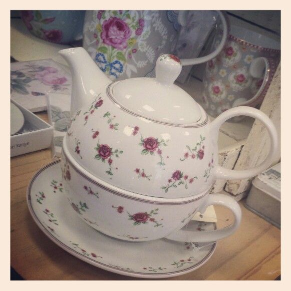 Tea for one teapot. www.teacupsandtrinkets.co.uk