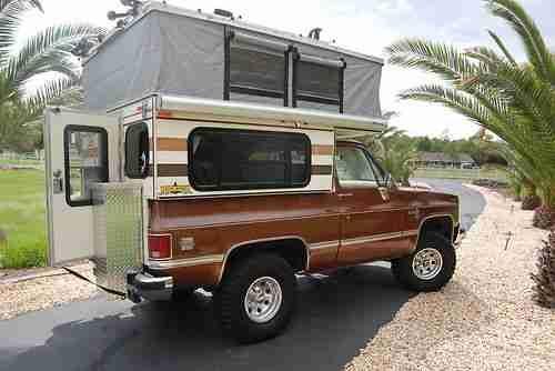 k5 blazer roof rack | 1985 Chevrolet K5 Blazer W/ Custom Four Wheel Camper on 2040cars