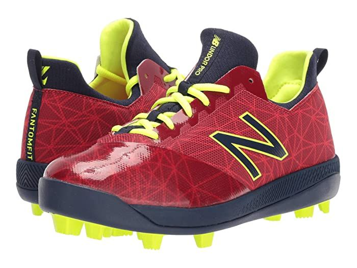 New Balance Kids Lindor Pro Youth Baseball Little Kid Big Kid Red Navy Kids Shoes Round The Bases With A Running Start In T In 2020 Kids Shoes Big Kids Little Kids