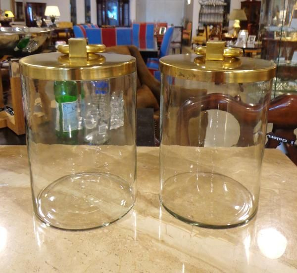 Covered jar #accents #decor #galeriem #jars