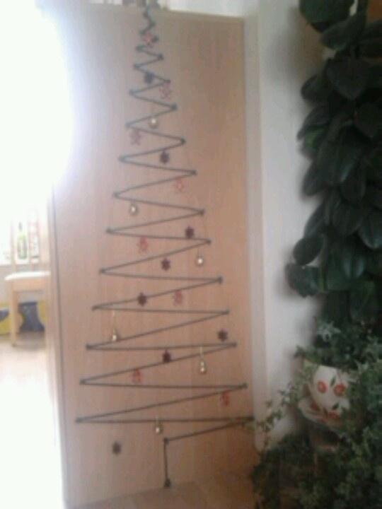 Homemade christmas tree!