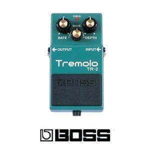 The original Boss TR-2 Tremolo Pedal provides real vintage tremolo guitar…