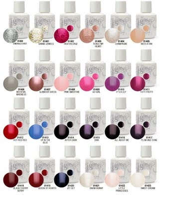 Bundle Of The New 24 Gelish Colors Soak Off Gel Nail Polish By Harmony