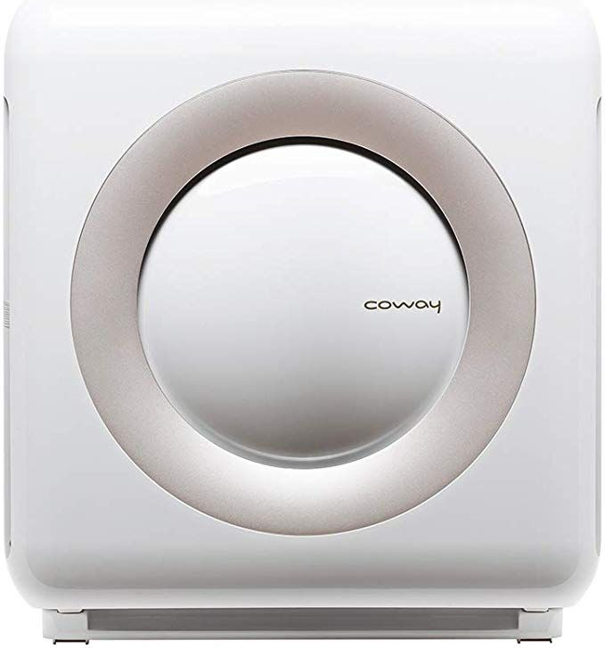 Amazon Com Coway Ap 1512hh Mighty Air Purifier With True Hepa And Eco Mode In White Home Kitchen Air Purifier Hepa Air Purifier Hepa Air