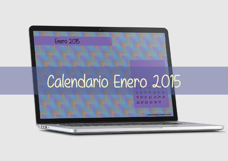 Clouds and Designs: Calendarios Enero 2015