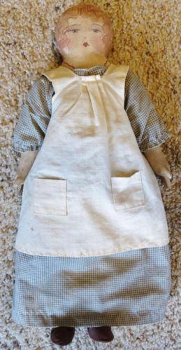 The Talbott Doll Co Charmaine 1986 Signed Primitive Antique Folk Cloth Country   eBay