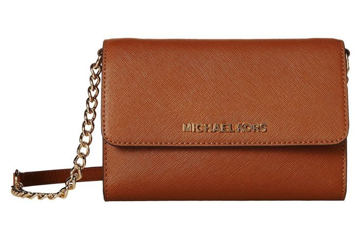 Michael Kors Jet Set Travel Large Phone Crossbody - Luggage