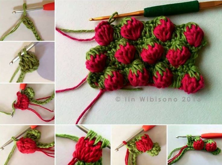 Learn how to crochet a simple strawberry Stitch. Cute and easy to do. This will wipe up fast. It can be use as a washable dishcloth or a decoration for your kitchen. Have you seen 'Strawberry Stitch' before? What a unique stitch it is and you can use it for …