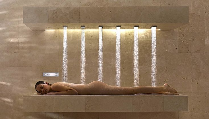 WOW! the ultimate in luxury baths.   Multiple settings offer different combinations of water pressure,