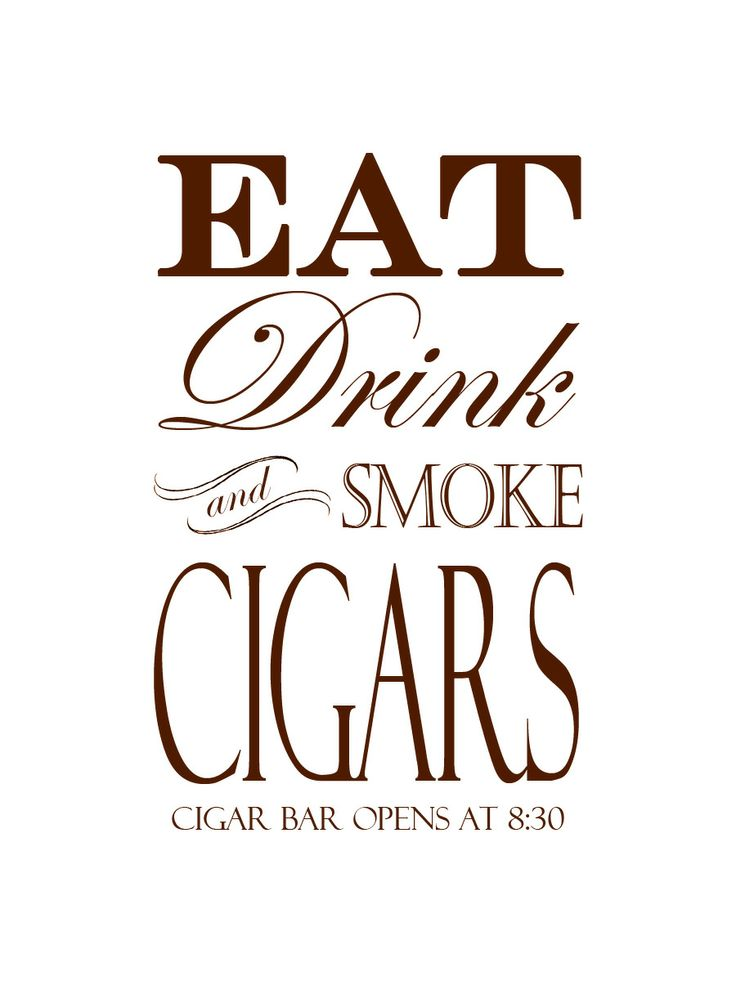 Cigar Bar sign from my wedding